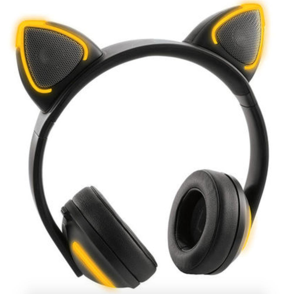 - wireless cat ear headphones 1 - Music with catitude! – The Gadgeteer
