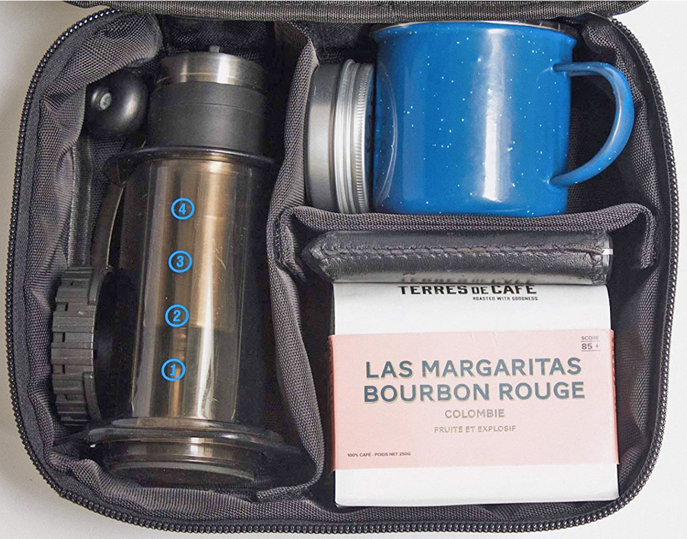 Basal Traveller is the perfect carrying case for your coffee equipment