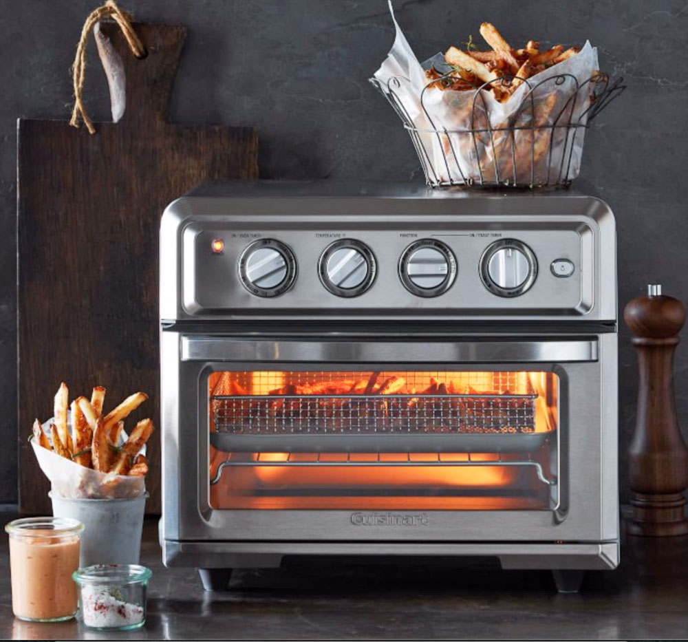 Cuisinart Combines A Toaster Oven And An Air Fryer Into One