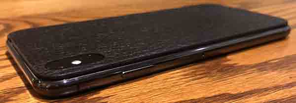 Jamie Clawson leather iPhone Xs Max skin review