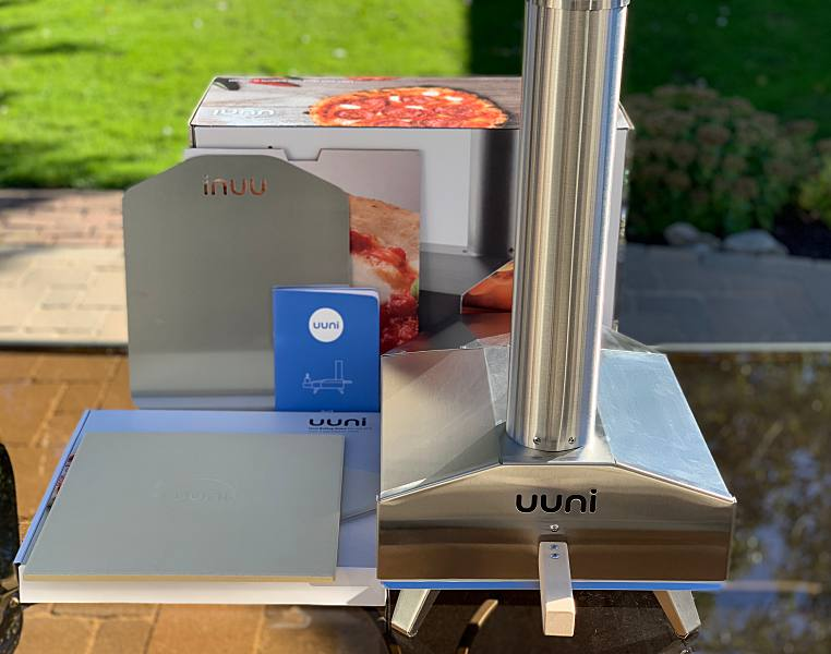 Ooni 3 Portable Outdoor Pizza Oven And Gas Burner