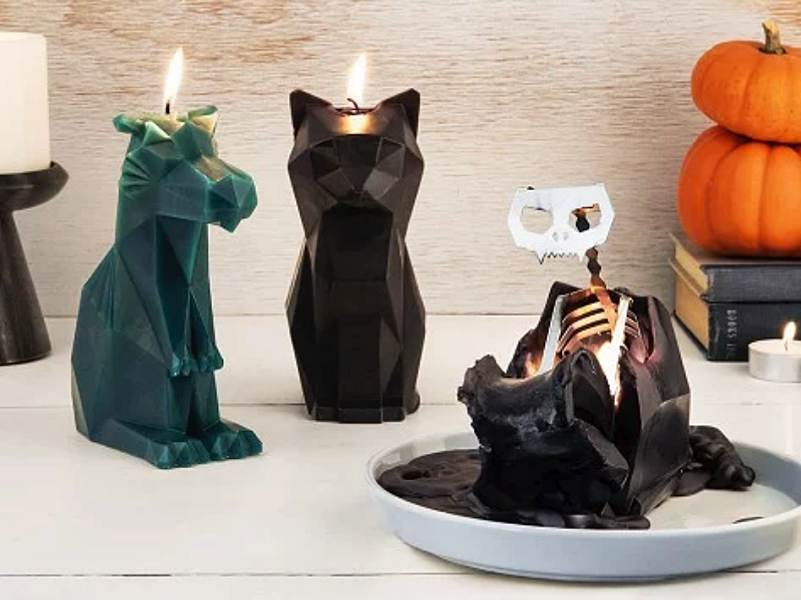 The PyroPet animal shaped candles contain a wicked little ...