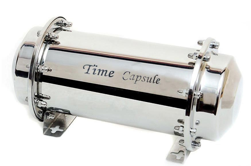 stainless time capsule
