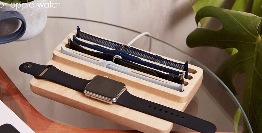 Anden's Valet charges your Apple Watch and organizes your extra bands – The Gadgeteer