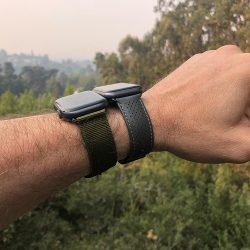 Monowear Nylon Band and Perforated Apple Watch Leather Band review