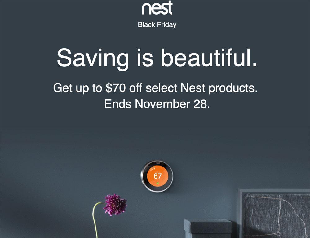 black friday nest