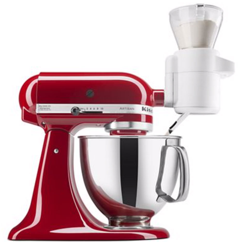 Bake with better results when you weigh your ingredients with this Kitchenaid stand mixer accessory