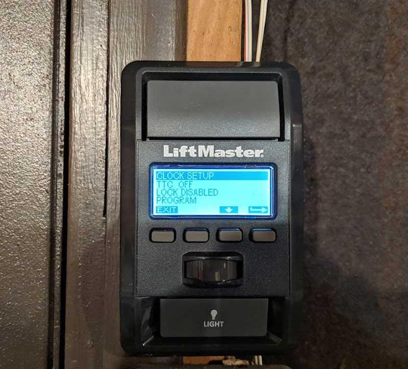Liftmaster Wled Garage Door Opener Review The Gadgeteer