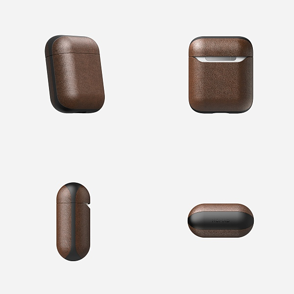 Drops Grained Leather AirPods Case