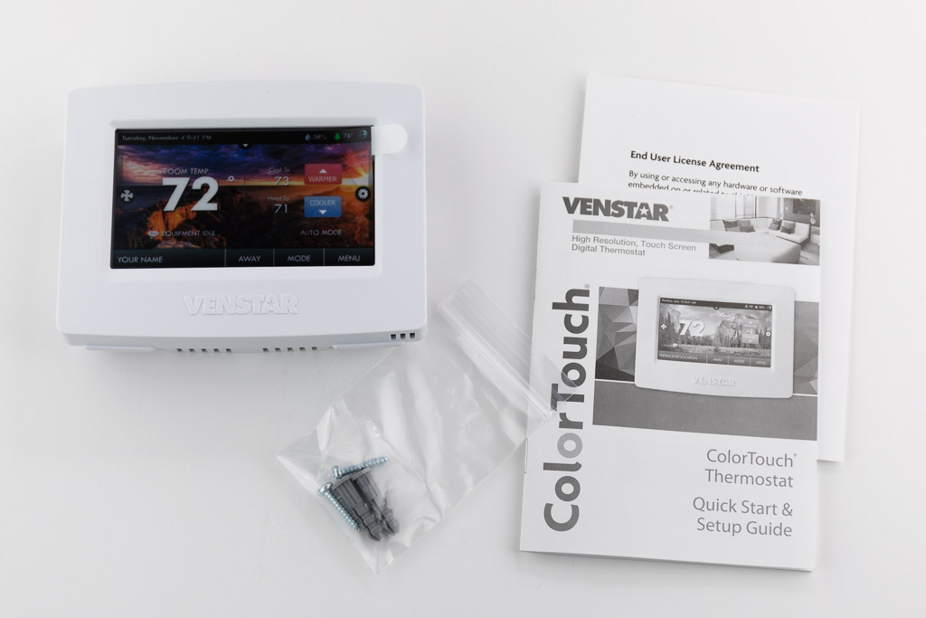 Magnificent Venstar Colortouch T7900 Thermostat Review The Gadgeteer Wiring Digital Resources Indicompassionincorg