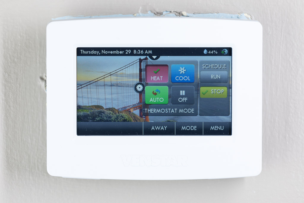 Venstar ColorTouch T7900 thermostat review – The Gadgeteer on