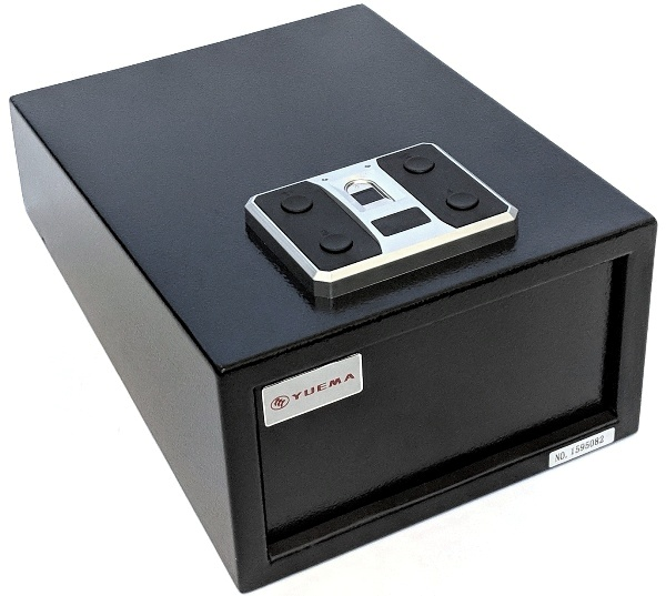 yuema biometric handgun safe 01