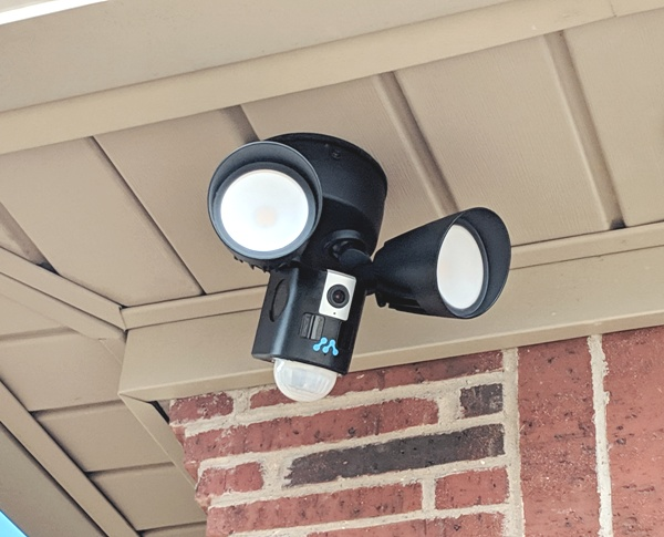 Momentum Aria LED Floodlight with WiFi Camera review – The Gadgeteer