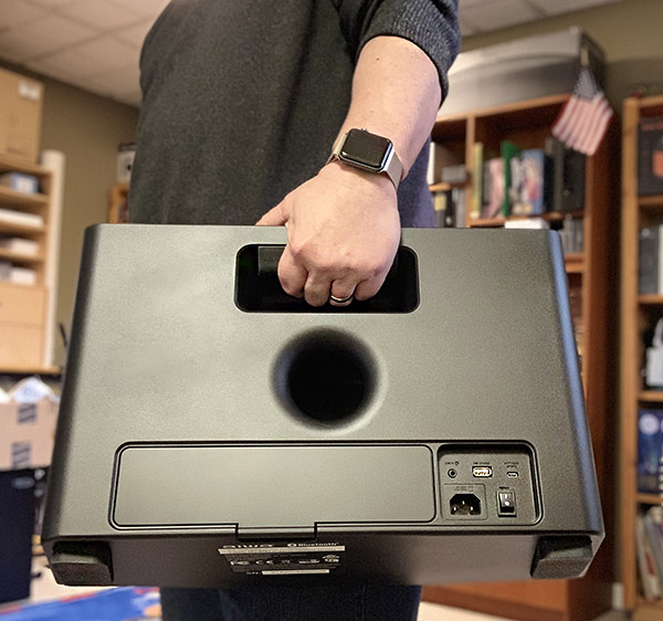 Aiwa Exos-9 Portable Bluetooth speaker review - The Gadgeteer
