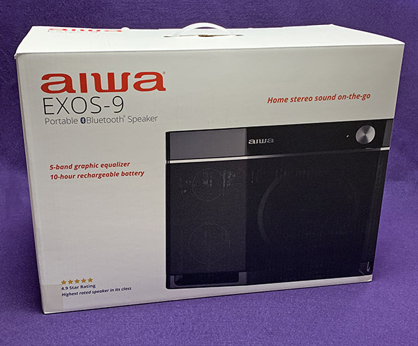 Aiwa Exos-9 Portable Bluetooth speaker review – The Gadgeteer