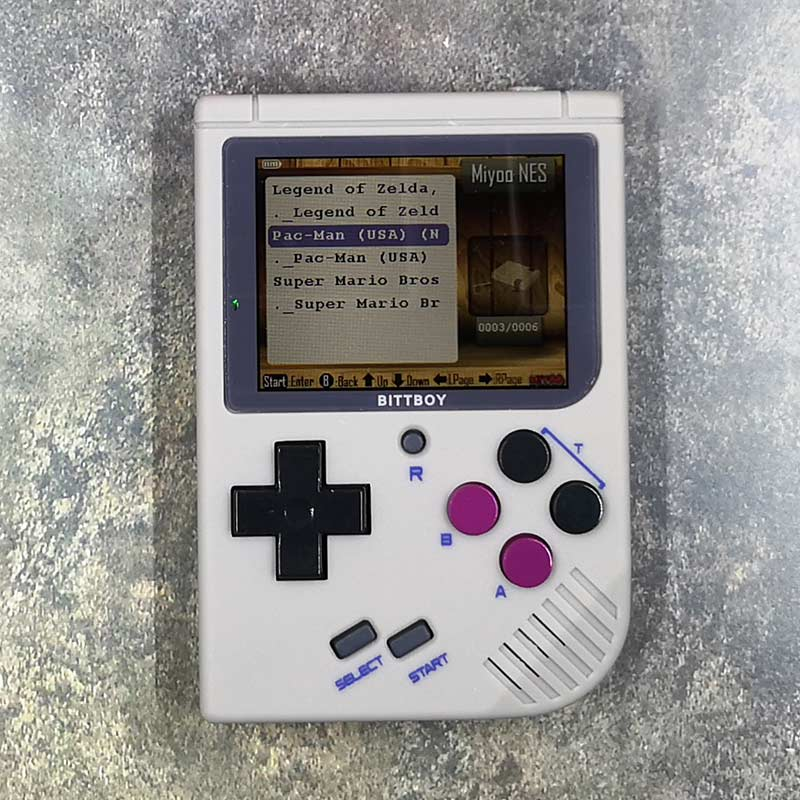 Bittboy Game Boy and NES handheld game console review – The Gadgeteer