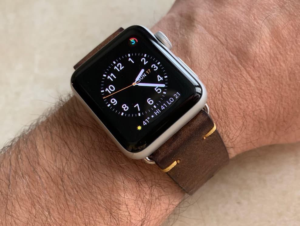 Merido Vintage Apple Watch Band 005