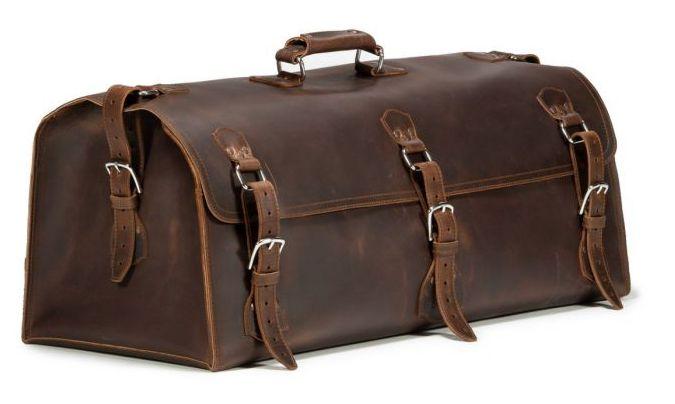 Dark Coffee Brown Beast duffle bag