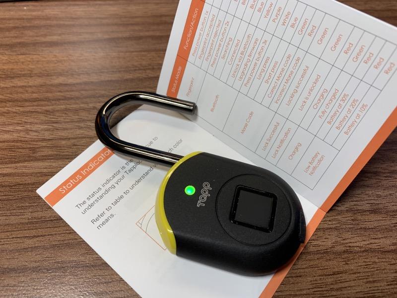 Tapplock Lite fingerprint lock review – The Gadgeteer