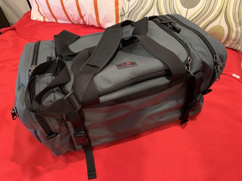 8bc283ade9 Tom Bihn Road Buddy 60L duffel bag review – The Gadgeteer