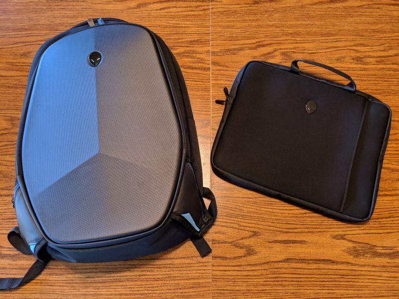 Alienware Backpack REV 155551