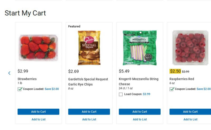 Savor The Savings With Kroger Pickup S Clickable Coupons The Gadgeteer