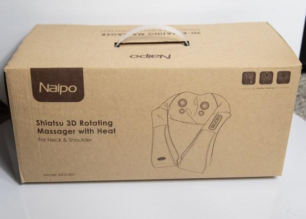 Naipo Shiatsu Kneading Massager 2