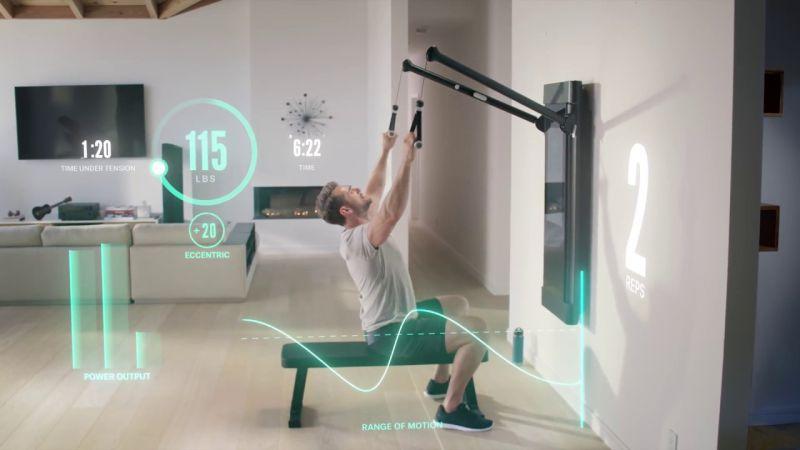 Tonal Smart Home Gym 1