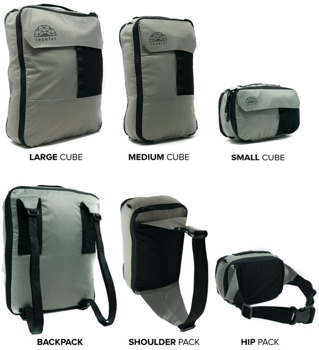 CUBEPACKS | Packing Cubes That Transform Into Packs – Notable crowdfunding campaign