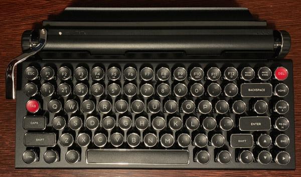 qwerkywriter keyboard overhead
