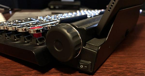 qwerkywriter keyboard powerbutton