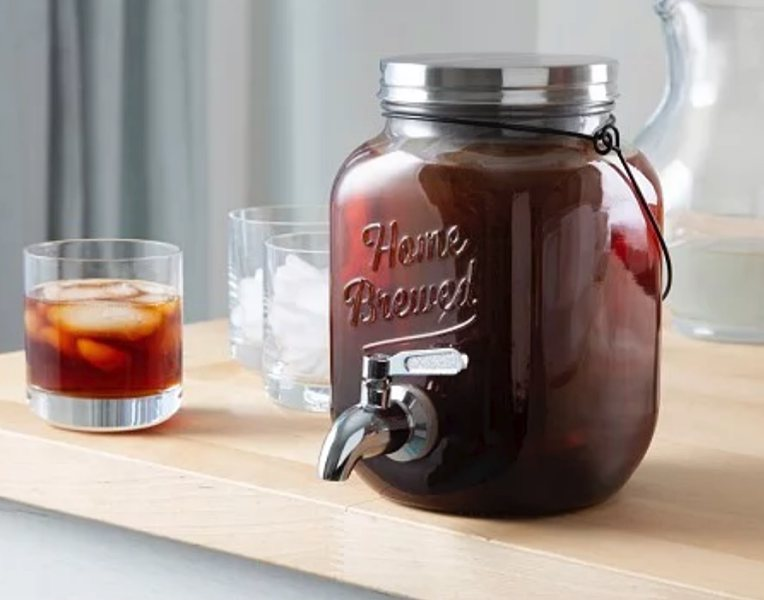 Cold Brew On Tap 2.0 makes made-by-you cold brew super easy