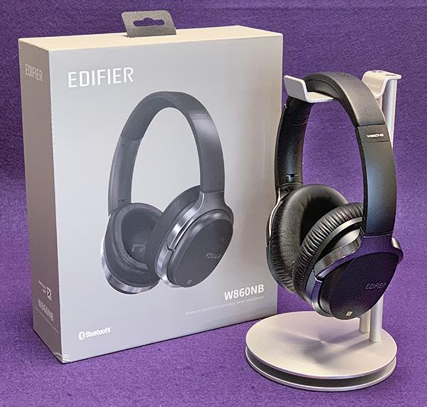 e7ce5d0bc71 Edifier W860NB Bluetooth Active Noise Canceling headphone review ...