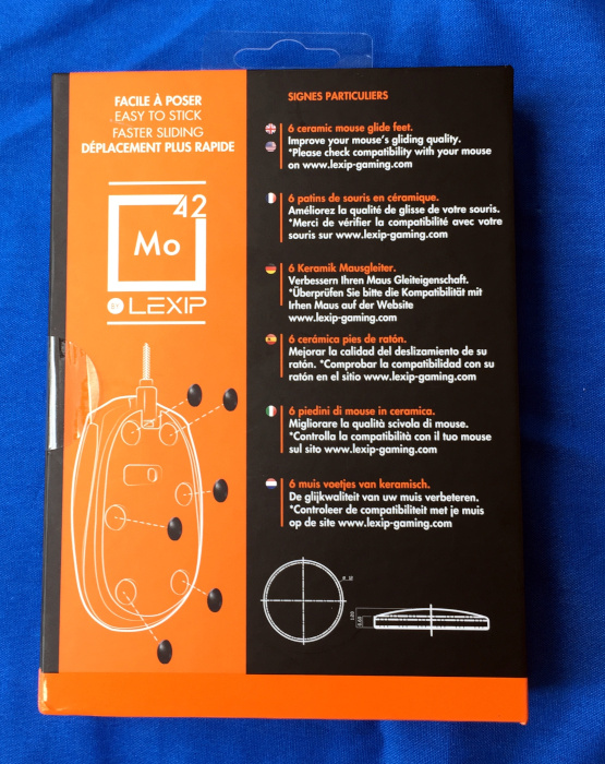 7a4b8eb42eb The full-color packaging shows off the mouse feet via transparent window  and cutout on the front of the package. The rear of the package provides  some basic ...