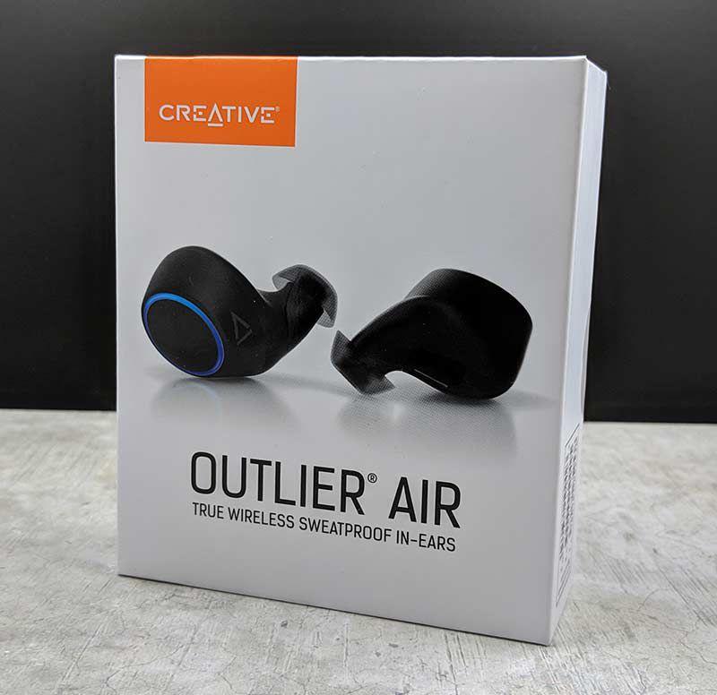 Creative Outlier Air True Wireless sweatproof earbuds review