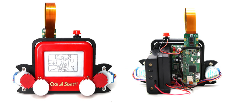 Slow, low-res images with Etch-A-Snap concept – The Gadgeteer