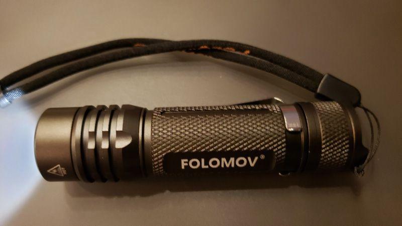 folomov flashlight 14