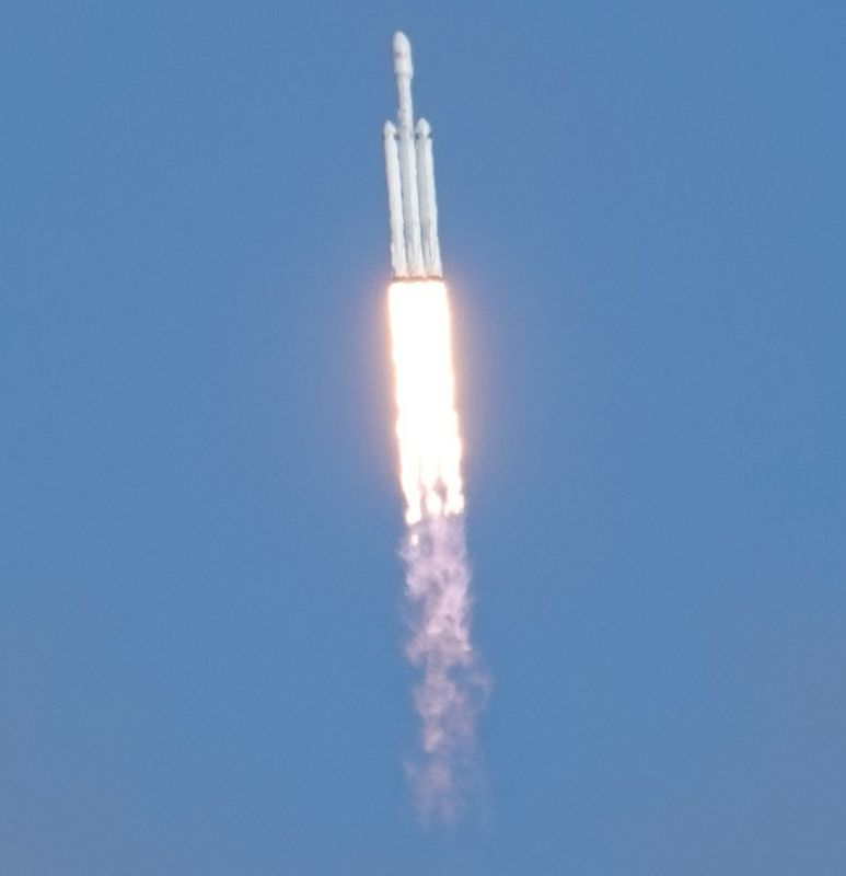 spacex falconheavy 1