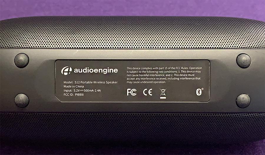 Audioengine 512 portable wireless speaker review – The Gadgeteer