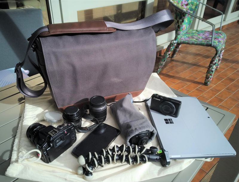 Camera Bag The Gadgeteer