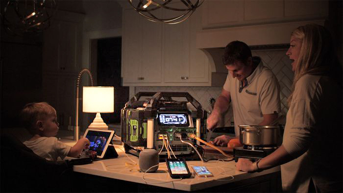 The EGO Nexus generator can be safely used inside your home – The