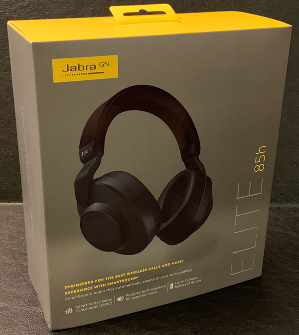 Jabra Elite 85h Wireless Noise Cancelling Headphones Review The Gadgeteer