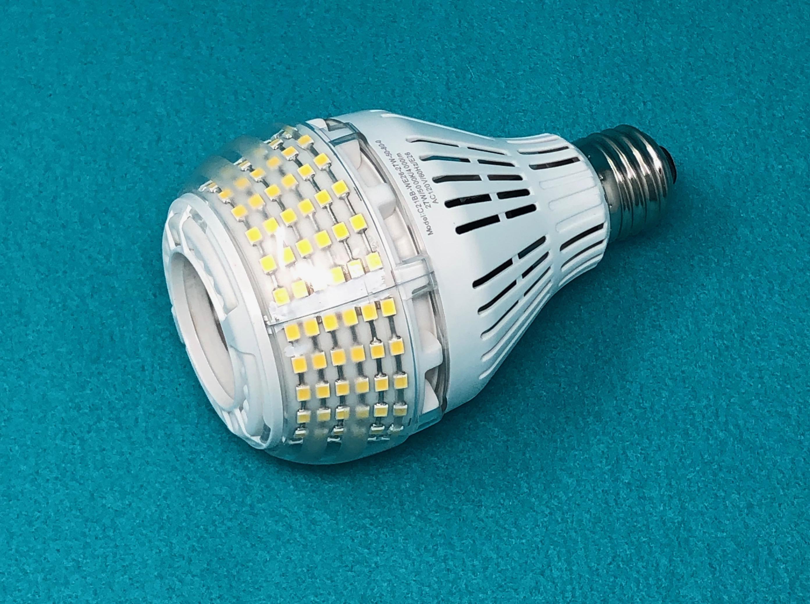 SANSI A21 omni-directional LED light bulb review – The Gadgeteer