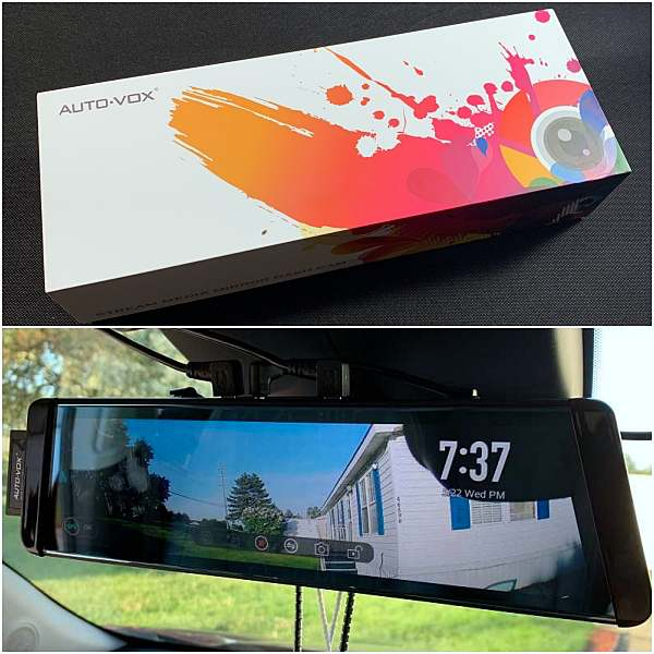 Auto-Vox X2 Streaming Media Mirror Dash Cam review
