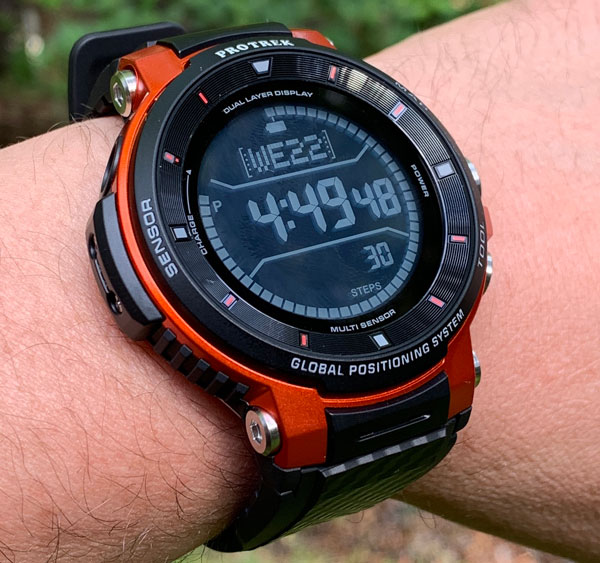 Casio PRO TREK WSD-F30 Android WearOS smartwatch review – The Gadgeteer