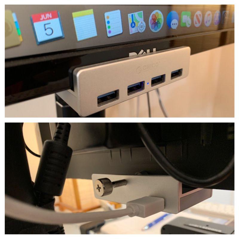 ORICO USB cliphub 07