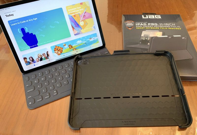 online store 93779 9c8cd UAG Scout Folio Series iPad Pro case review – The Gadgeteer