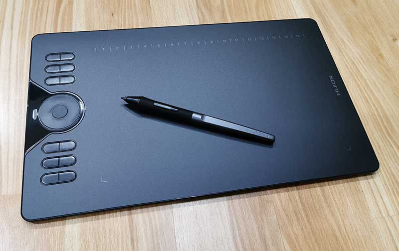 Huion HS610 graphics drawing tablet review – The Gadgeteer
