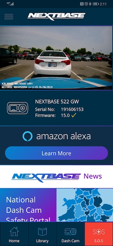 Nextbase 522GW dash cam review – The Gadgeteer