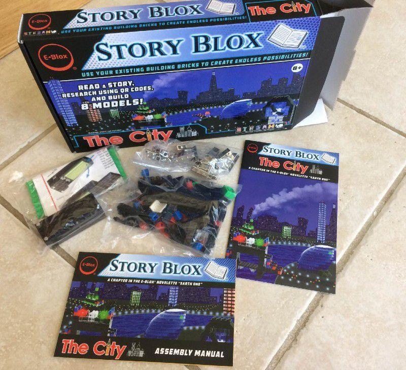 E-Blox building brick sets review – The Gadgeteer